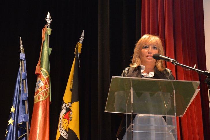 Resultado de imagem para A presidente da Câmara Municipal da Marinha Grande
